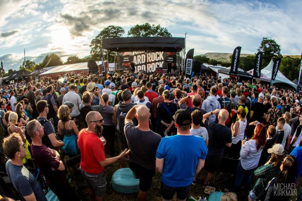 Crowds at the Ard Rock event 2018