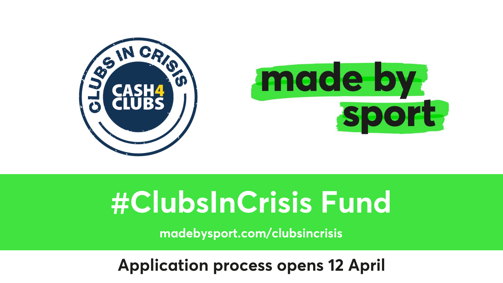 Delivering better futures with Made By Sport – 'Clubs In Crisis' fund launches